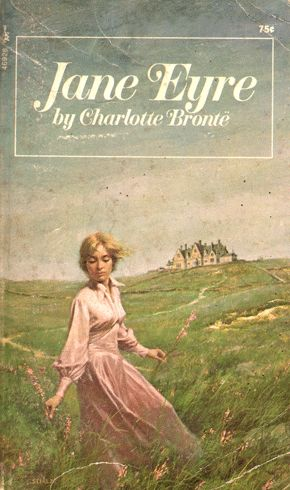 Jane Eyre paperback cover - 1972