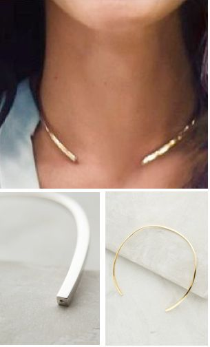 I love this necklace. Silver or gold. #anthroregistry: