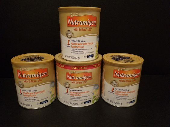 Lot of 3 x 12.6oz and 1 x 19.8 Nutramigen w/ Enflora LGG Hypoallergenic w/ Iron https://t.co/oy20lHsFw5 https://t.co/klz8rOhFHB