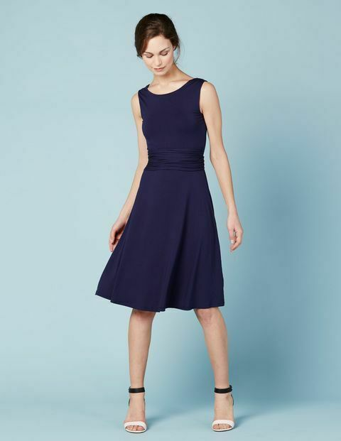 New Boden Tie Waist Ballet Dress Uk 12r Navy Fashion Clothing Shoes Accessories Womensclothing Dresses Ebay Link Dresses Ballet Dress Womens Dresses Uk