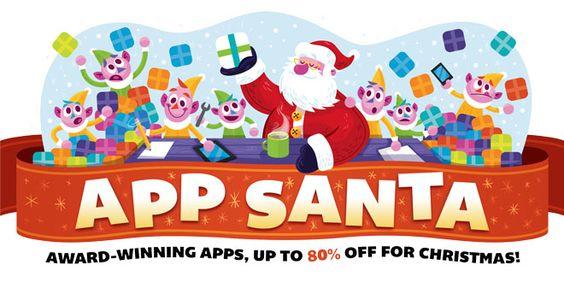 App Santa trae hasta un 60% de descuento en aplicaciones - http://www.entuespacio.com/app-santa-trae-hasta-un-60-de-descuento-en-aplicaciones/
