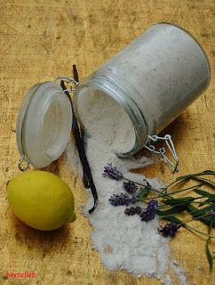 Lavendel-Vanillezucker - berührt die Sinne - herzelieb