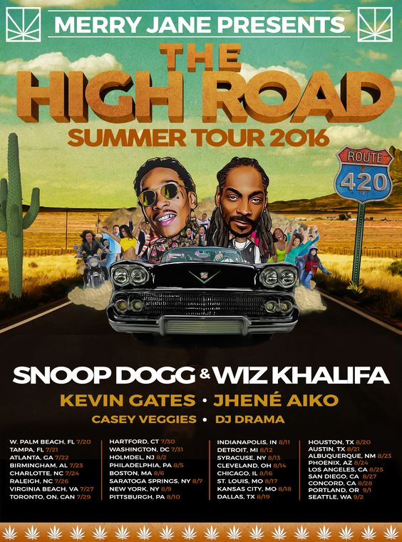 'The High Road' Tour