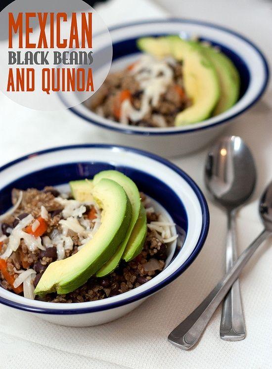 Mexican Black Beans and Quinoa | Flavor Ideas