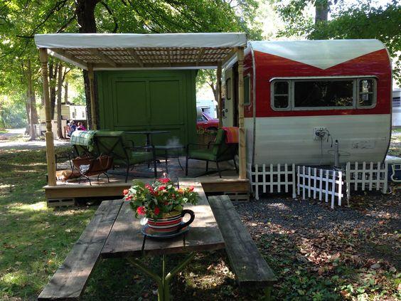 Permanent small camper