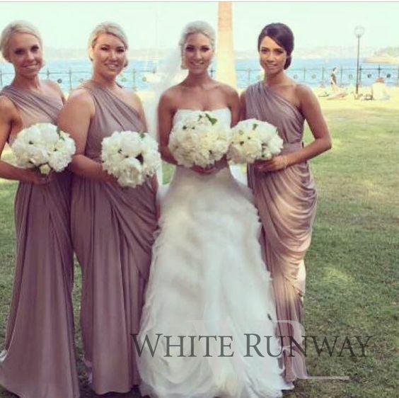 Latte Bridesmaid Dresses - Weddings - Pinterest - Blog- Dresses ...