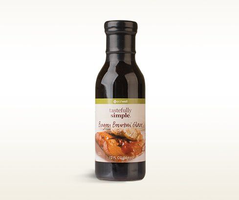 Bayou Bourbon Glaze Bourbon Sauce Tastefully Simple Bourbon Glaze