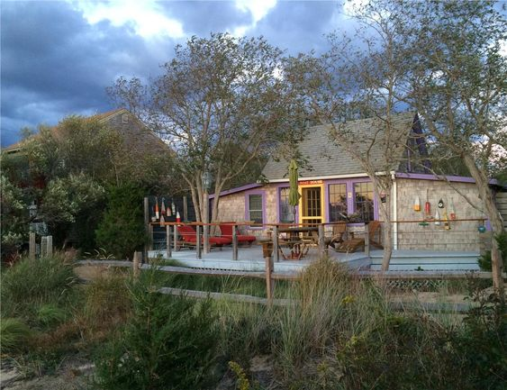 Eastham vacation rental ID 3726  The Boathouse-a top a sand dune. Eastham, Cape…