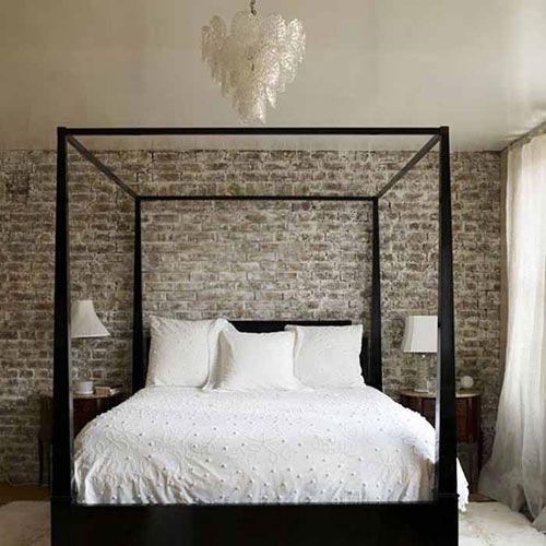 Bakstenen muur binnen in huis | Huis-inrichten.com