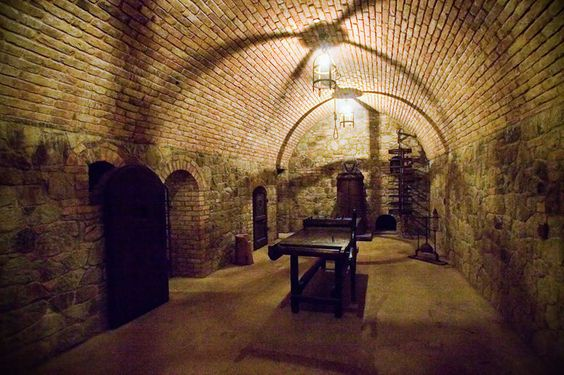 The Torture Chamber at the Castello di Amorosa