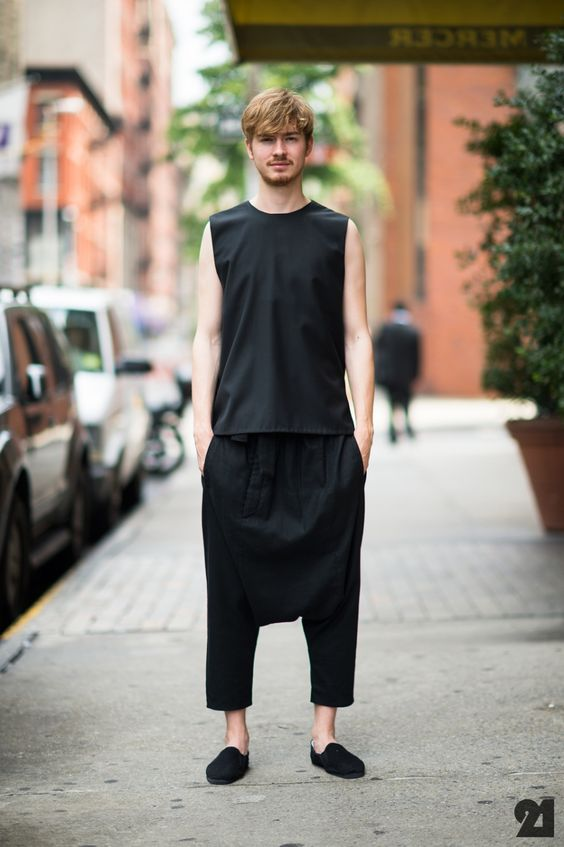 German Male Model Street Style Who Men Jeremy Richter What Siki Im Where Usa New York City