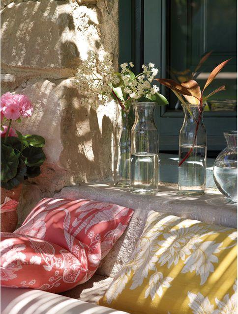 CASA TRÈS CHIC: Interior Design, Garden Ideas, Outdoor Living, Outdoors Garden, Outdoor Decor, Home Decor, Country Home Decor, Outdoor Spaces