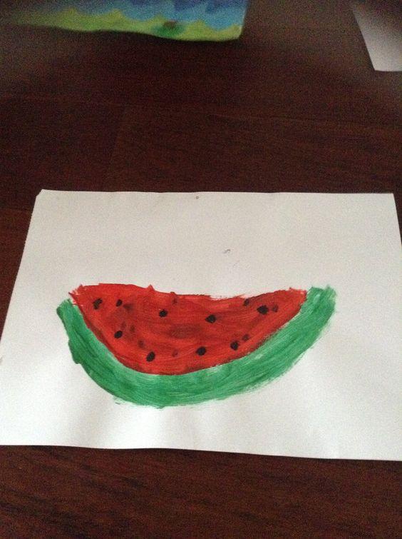 Watermeloen  karlijn