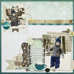 Project Ideas for Fancy Pants Designs - Timbergrove Collection - Ephemera Pack