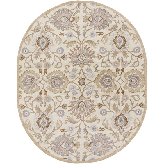 Phoebe Rug in Parchment & Sky