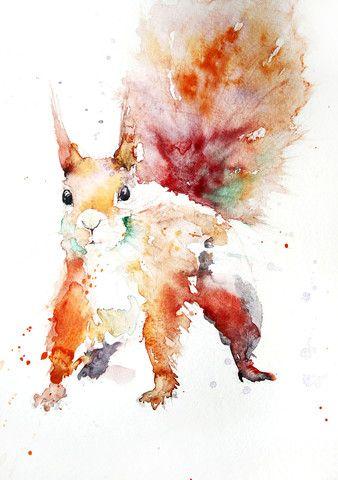Squirrel by Jen Buckley