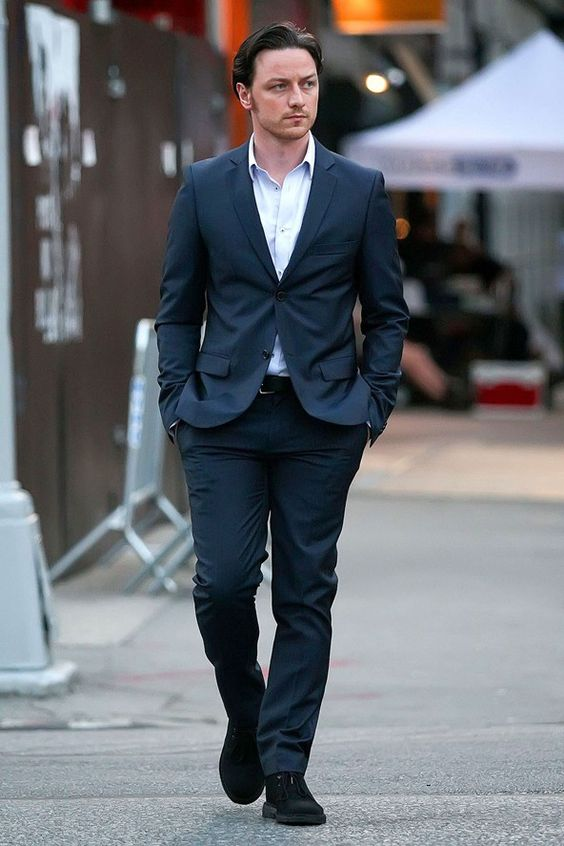 Day two, July 10, 2012, James McAvoy as Conor Ludlow on the set of his new movie The Disappearance of Eleanor Rigby in Noho, Manhattan. New York City, USA