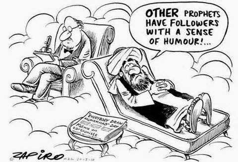 Funny Muslim Islam Psychologist Cartoon Joke Picture