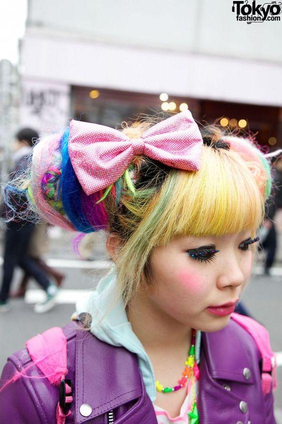 Multicolor Harajuku Hair