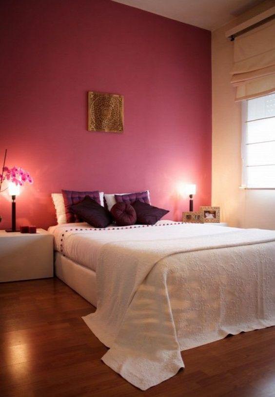 shabby chic romantikus stílus pink pasztell rózsaszín virtuális paletta színes falak hálószoba: