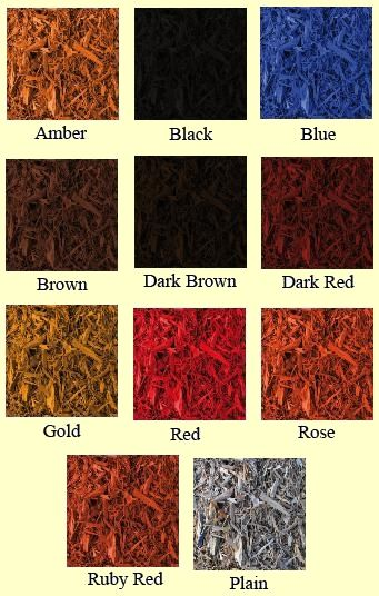 Colored Mulch Samples Via Http Www Amomwithnails Com