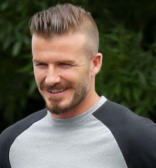 Top David Beckham Hairstyles Hairtsyles Pinterest - Beckham undercut hairstyle