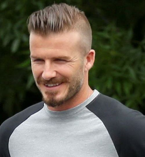 Peachy Models David Beckham Haircut And Soccer Players On Pinterest Hairstyles For Women Draintrainus
