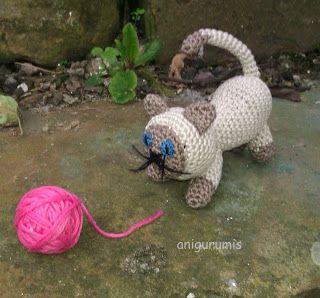 anigurumis: gato