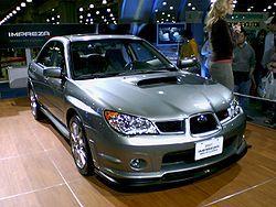 2007 US-spec Subaru Impreza WRX STi Limited. Only 800 were produced.