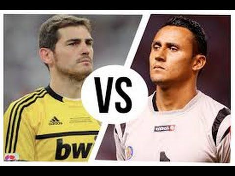 ★ Iker Casillas vs Keylor Navas ★ Paradones 2014