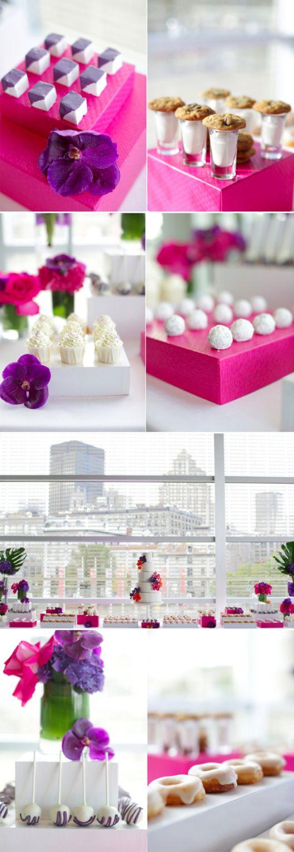 Caixas para decorar a mesa de doces