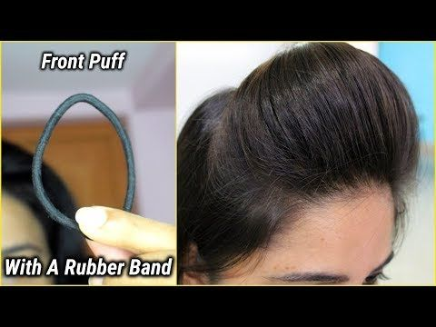 1 Min Front Puff For Thin Hair Easiest Way To Make Front Puff Youtube Hairstyles For Thin Hair Hair Puff Front Hair Styles