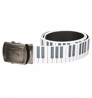 Retro Piano Keys Belt