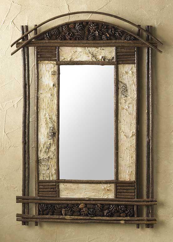 Pinewoods Mirror 33X25