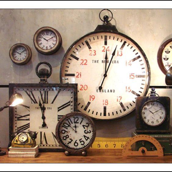 Vintage clocks | Clock-wise.... | Pinterest | Vintage ...