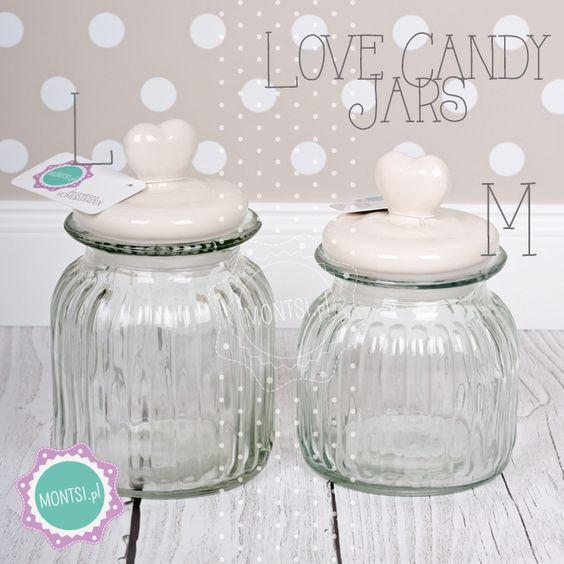 słoje na łakocie candy jars https://www.facebook.com/montsipl/ Photo: www.montsi.pl