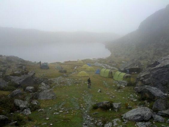 Campamento en la Sierra de la Culata.