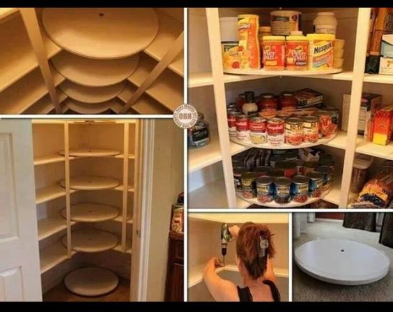 Rotating cabinets | Kitchen DIY | Pinterest | Cabinets