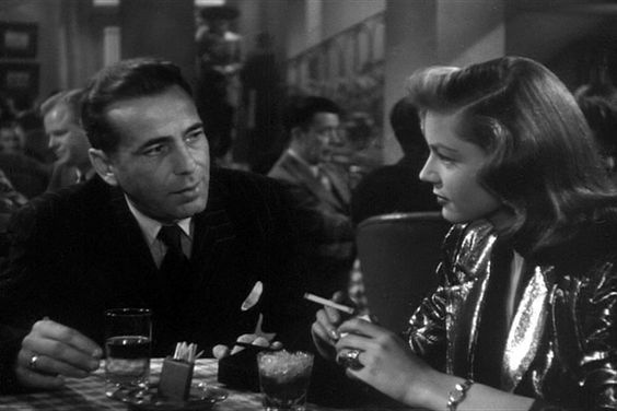 Humphrey Bogart and Lauren Bacall: