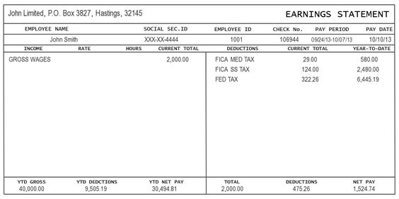 Free Paycheck Stub Templatepaytstub Template Thumbpng - Sales - download pay stub template
