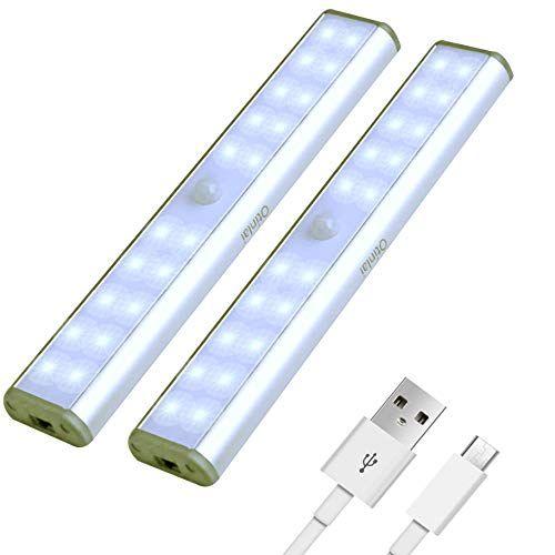 Under Cabinet Lights 20 Led Motion Sensor Lights Night Lightled Battery Lightsmotion Led Light Bar Usb Motion Sensor Lights Led Light Stick Led Battery Lights