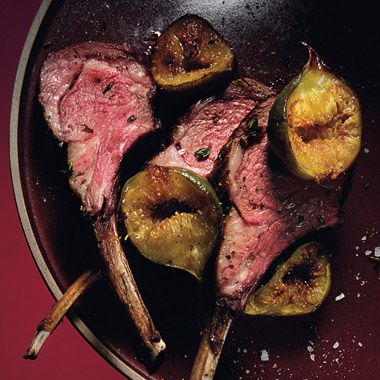 Figs and lamb=bliss... Sorry vegetarians!