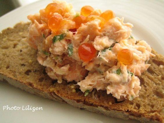 Rillettes de saumon - Gastronomades