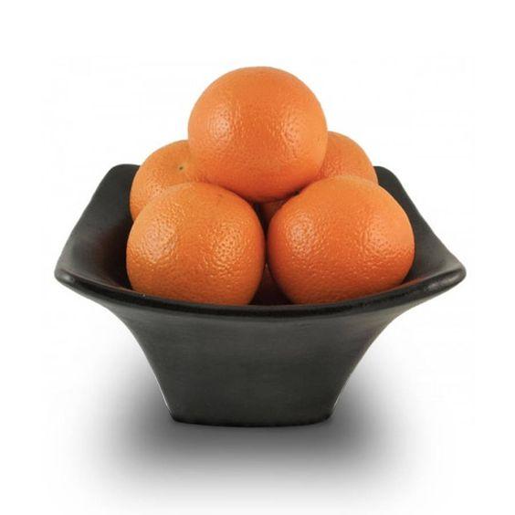 Black Square Fruit Bowl, Small from notonthehighstreet.com