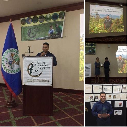 Roni Martinez Wins James Waight Award Cayo Scoop The Ecology Of Cayo Culture San Ignacio Martinez Awards