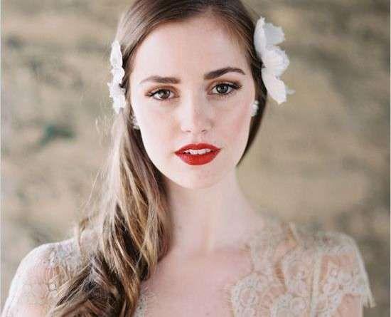 Super Oltre 25 fantastiche idee su Trucco da sposa con rossetto rosso su  AO46