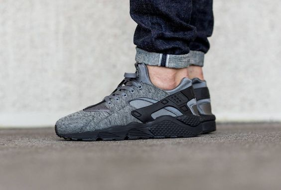 Nike Air Huarache Run TP Tech Fleece Pack NikeLab #Nike #AthleticSneakers