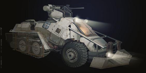 ArtStation - Armorcar, Vlad Tkach
