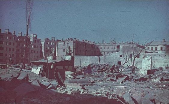 Russian city of Stalingrad during the namesake battle, Oct 1942