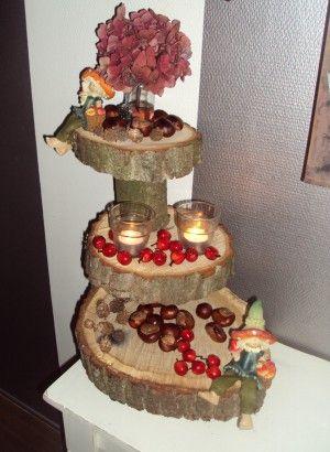 Herfst etagere, ook leuk для kerst, pasen и т. Д. И т. Д.